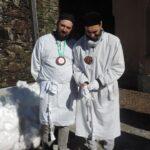 Confratelli di Catania venuti per la festa - foto di Luigi Albarelli - Tremenico, 5 febbraio 2019