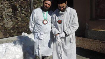 Confratelli di Catania venuti per la festa - Tremenico