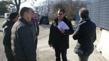Sopralluogo al cantiere per la nuova Lecco-Bergamo