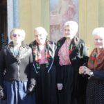 Donne con l'abito tradizionale - foto di Luigi Albarelli - Tremenico, 5 febbraio 2019