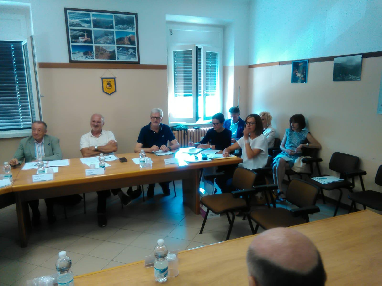 Consiglio provinciale a Pagnona