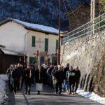 La processione - foto di Luca Brambilla - Tremenico, 5 febbraio 2019