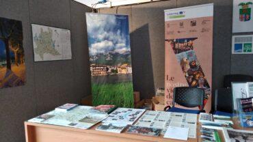 stand della Provincia di Lecco alla Sagra delle sagre 2019