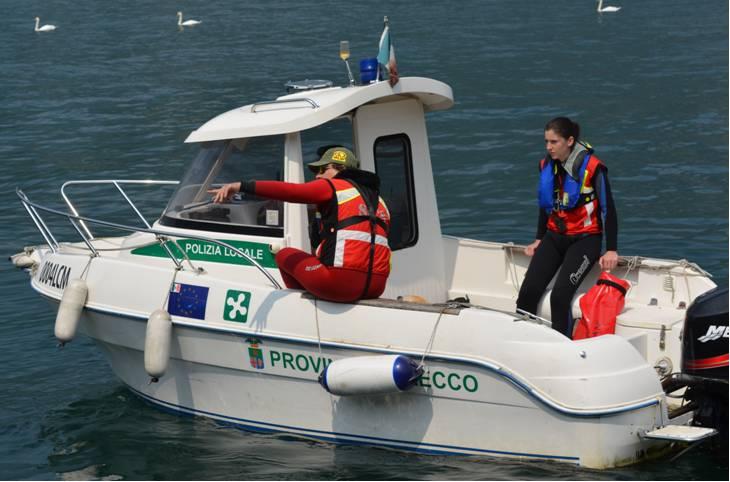 Lario Sicuro - Pilotina Polizia provinciale