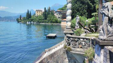 Villa Monastero: vista sul lago