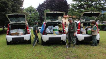 Volontari per il salvataggio degli anfibi