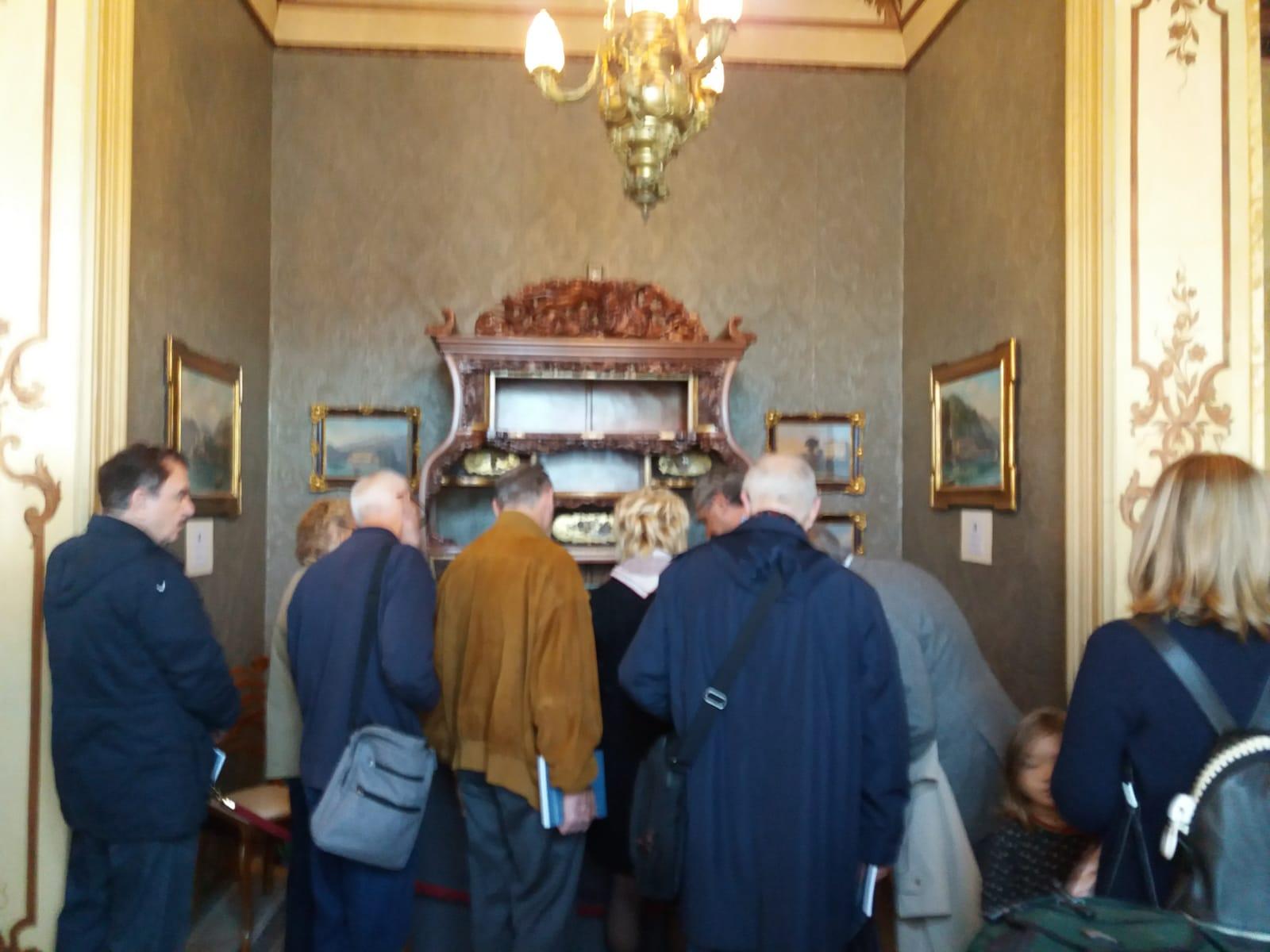 Inaugurazione mostra su Antonio Ghislanzoni a Villa Monastero