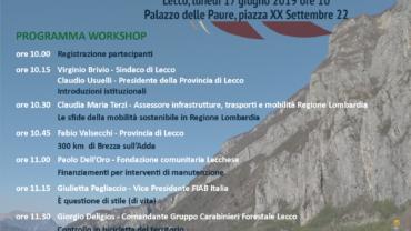Programma workshop #SostenibiLecco