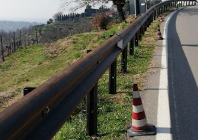 guardrail Montevecchia