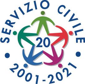 Logo 20 anni Servizio Civile Universale