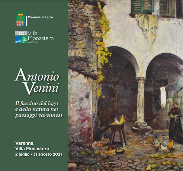 Locandina mostra Antonio Venini