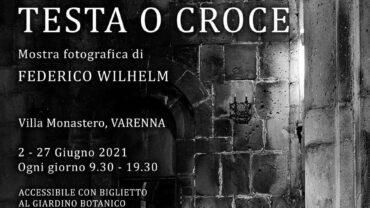 Locandina mostra fotografica Federico Wilhelm a Villa Monastero