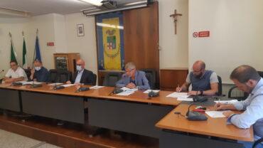Conferenza stampa 13 luglio Provincia di Lecco