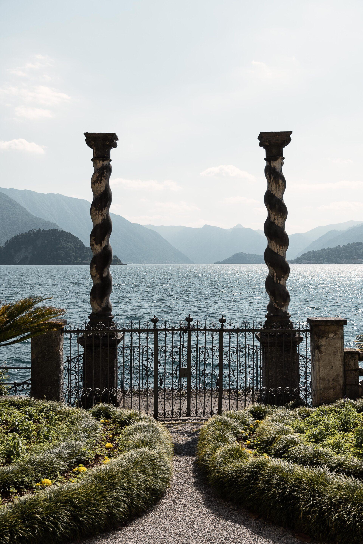 Villa Monastero: vista lago