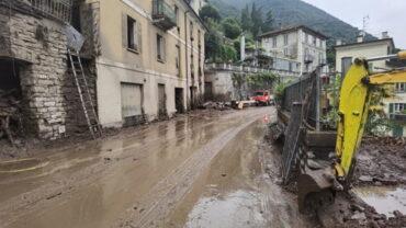 Alluvione Valsassina 2021